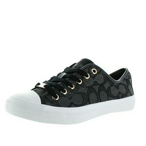 New! COACH Empire Signature Logo Sneakers Low Top